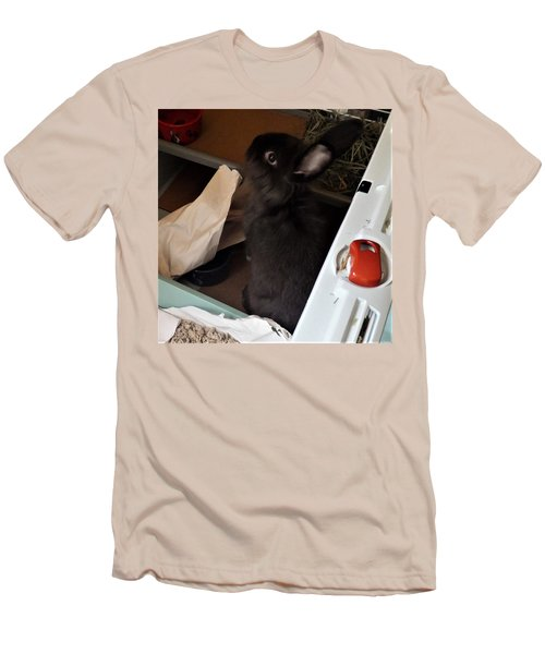 Men's T-Shirt (Athletic Fit) featuring the photograph Welcome To My Humble Abode by Denise Fulmer