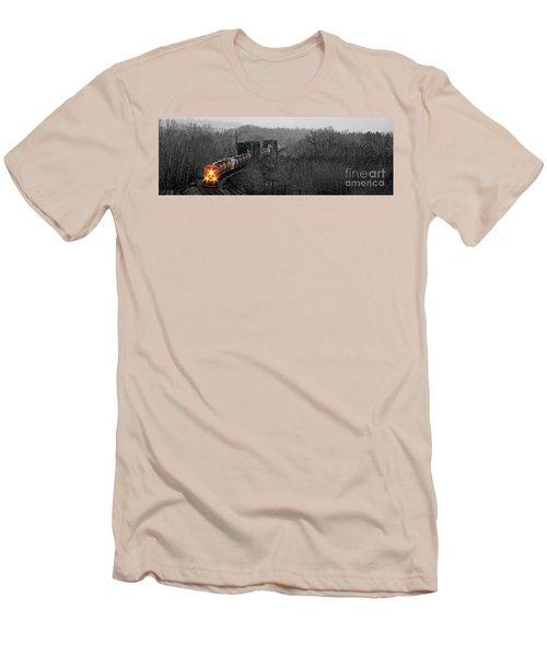 Westbound Grain Men's T-Shirt (Slim Fit) by Brad Allen Fine Art