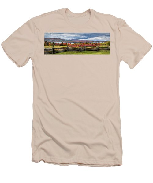 Westmore Overlook Men's T-Shirt (Slim Fit) by Tim Kirchoff