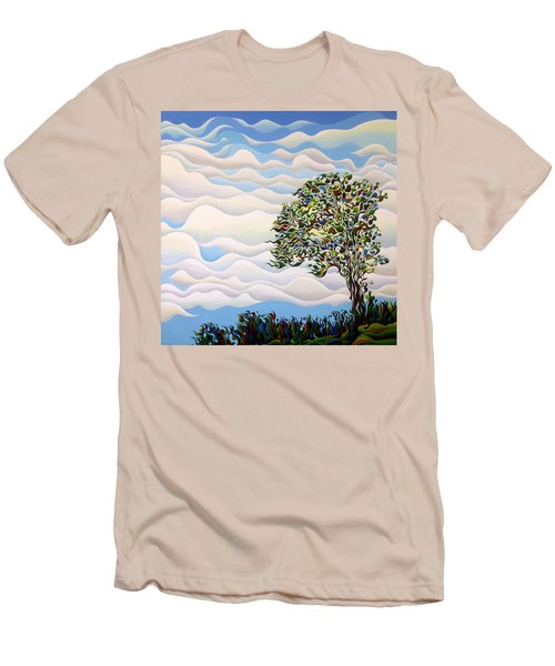Westward Yearning Tree Men's T-Shirt (Athletic Fit)