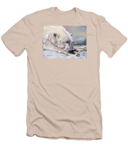 What Do Polar Bears Dream Of Men's T-Shirt (Athletic Fit)