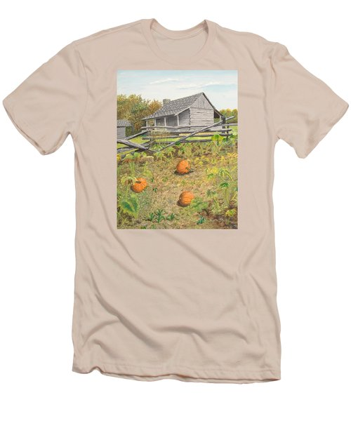What's Left Of The Old Homestead Men's T-Shirt (Slim Fit) by Norm Starks