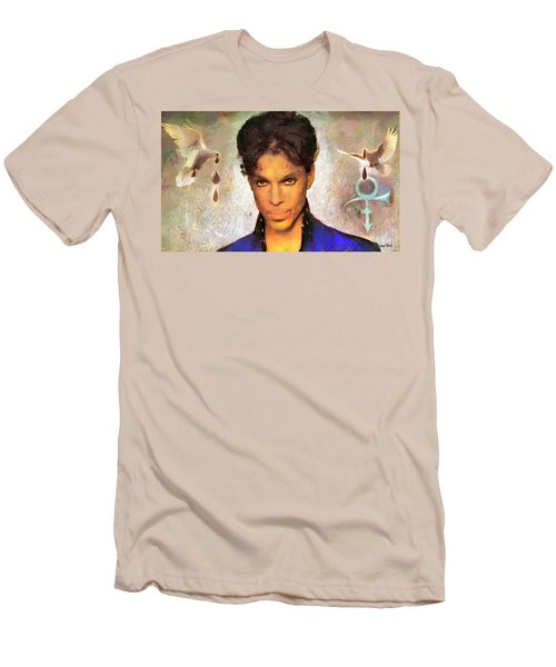 When Doves Cry Men's T-Shirt (Slim Fit) by Wayne Pascall