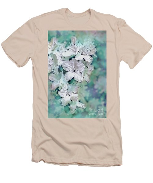 White Azaleas Men's T-Shirt (Athletic Fit)