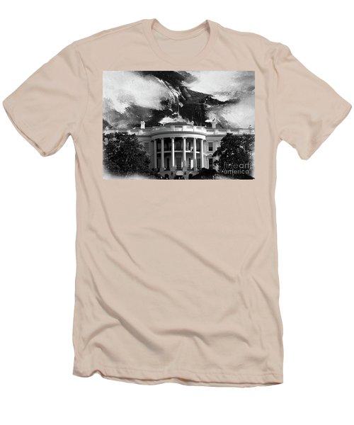 White House 002 Men's T-Shirt (Slim Fit) by Gull G