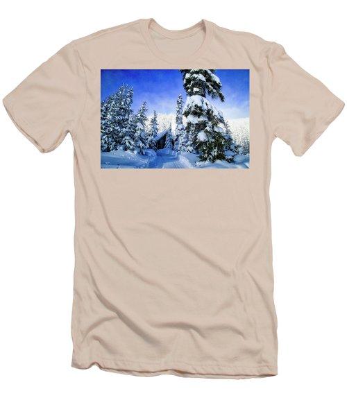 White Pass Chalet Men's T-Shirt (Slim Fit)