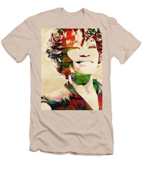 Whitney Houston Men's T-Shirt (Athletic Fit)
