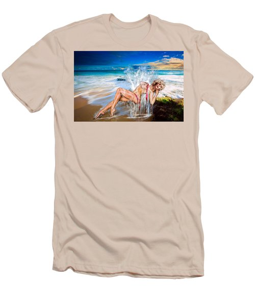 Whoops  ...  Marylin Men's T-Shirt (Slim Fit) by Glenn Feron