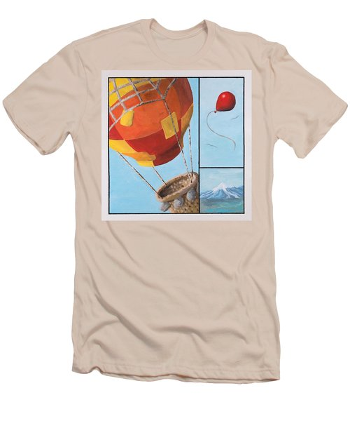 Who's Flying This Thing? Men's T-Shirt (Athletic Fit)