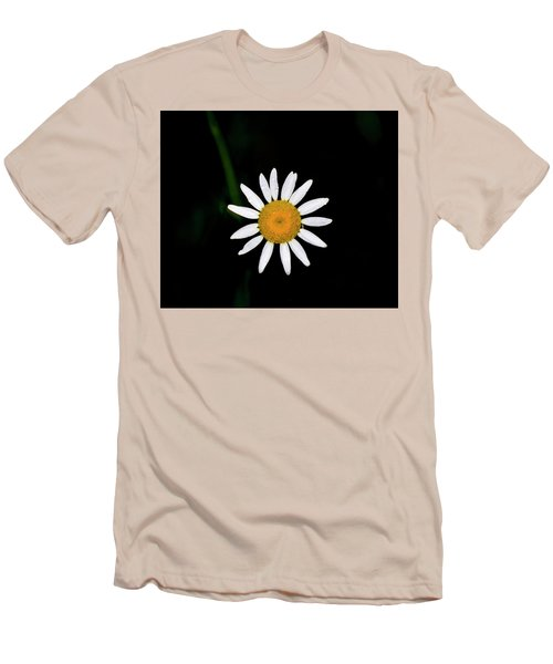 Men's T-Shirt (Slim Fit) featuring the digital art Wild Daisy by Chris Flees