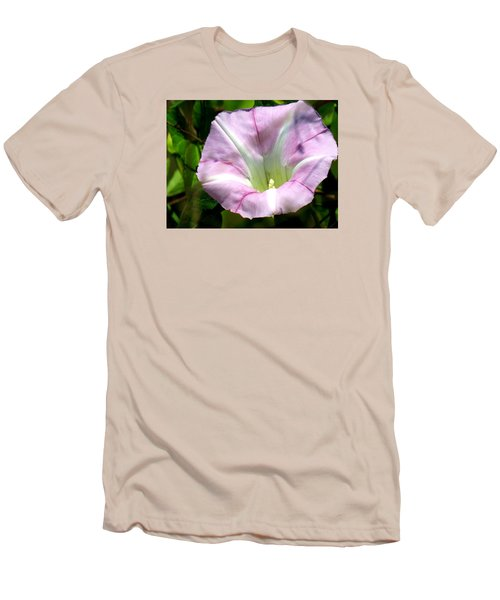Men's T-Shirt (Slim Fit) featuring the photograph Wild Morning Glory by Eric Switzer