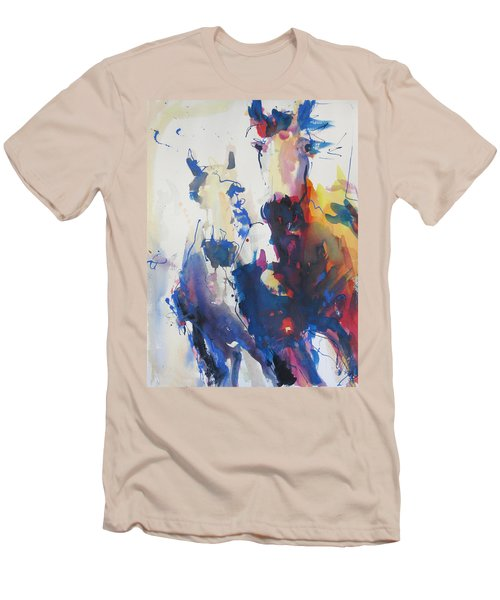 Wild Wild Horses Men's T-Shirt (Athletic Fit)