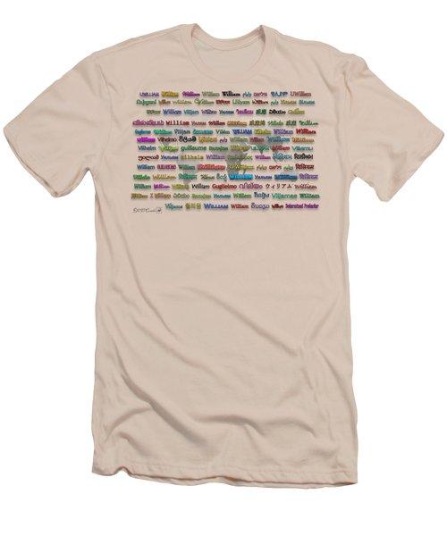 William Men's T-Shirt (Athletic Fit)
