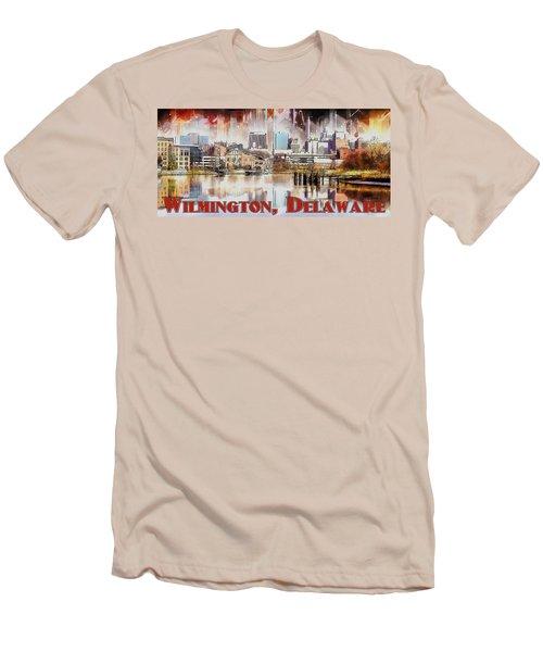 Wilmington City Lights Men's T-Shirt (Athletic Fit)