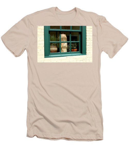 Window At Sanders Resturant Men's T-Shirt (Athletic Fit)