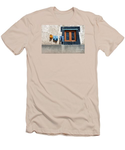 Men's T-Shirt (Athletic Fit) featuring the photograph Window by Yew Kwang