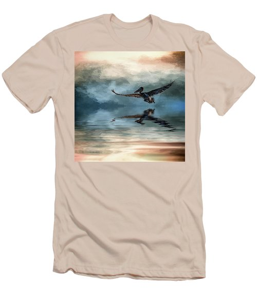 Wings Up Men's T-Shirt (Slim Fit) by Cyndy Doty