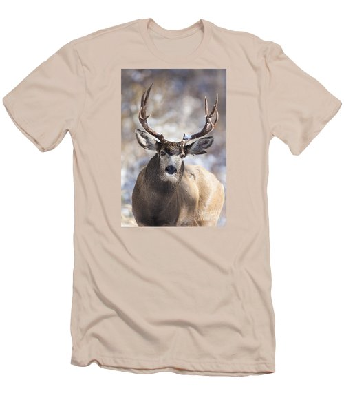 Winter Buck II Men's T-Shirt (Athletic Fit)