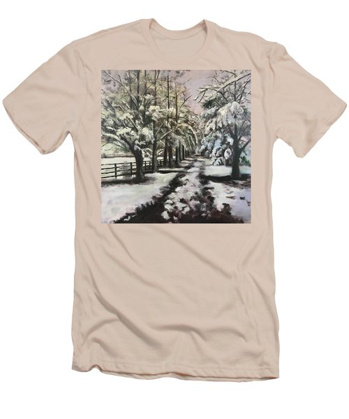 Winter Walk Men's T-Shirt (Athletic Fit)