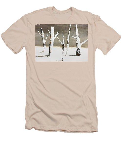 Winter Wood Men's T-Shirt (Athletic Fit)