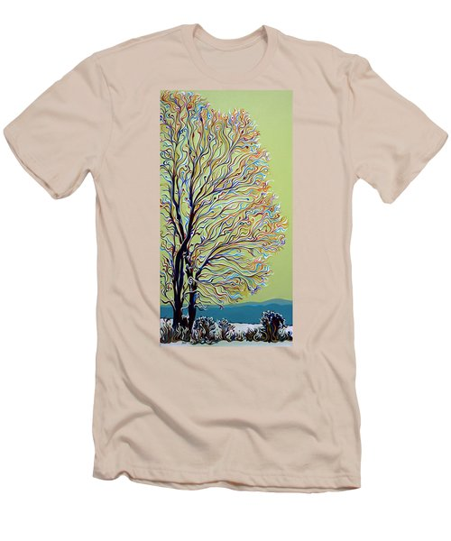 Wintertainment Tree Men's T-Shirt (Athletic Fit)