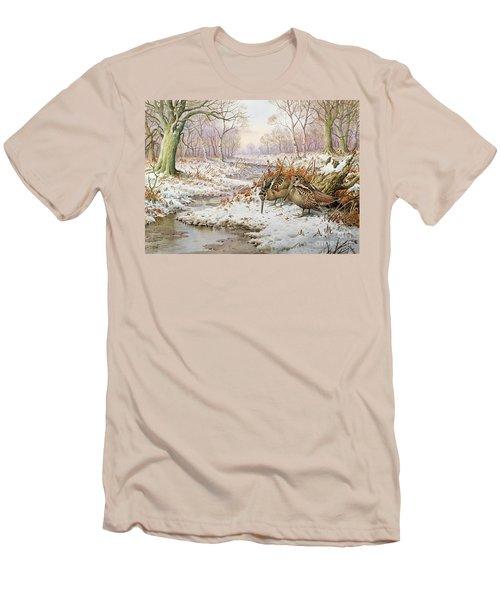 Woodcock Men's T-Shirt (Athletic Fit)