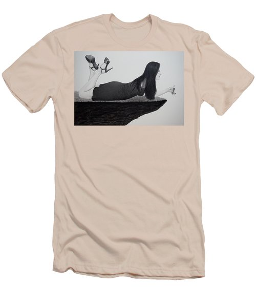 Wrapped Around My Middle Finger Men's T-Shirt (Athletic Fit)