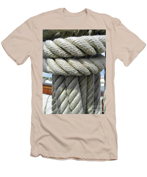 Wrapped Up Tight Men's T-Shirt (Slim Fit) by D Hackett