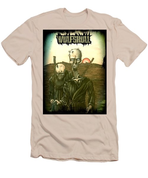Wulfskull #1 Men's T-Shirt (Athletic Fit)