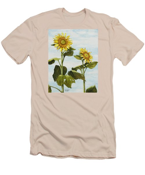 Yana's Sunflowers Men's T-Shirt (Athletic Fit)