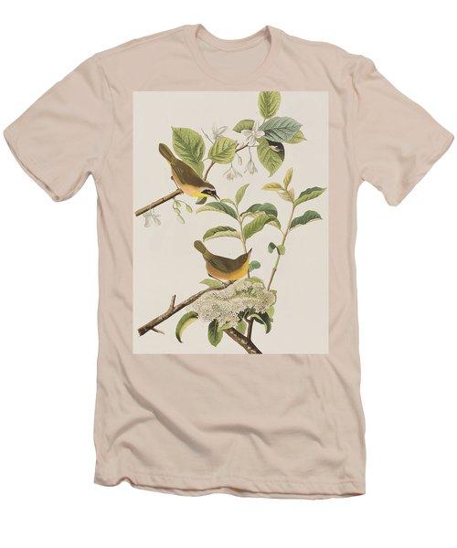 Yellow-breasted Warbler Men's T-Shirt (Slim Fit) by John James Audubon