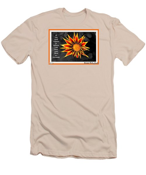 Men's T-Shirt (Slim Fit) featuring the digital art You Are Not Worthless by Holley Jacobs