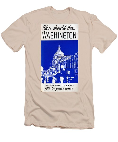 You Should See Washington Men's T-Shirt (Athletic Fit)