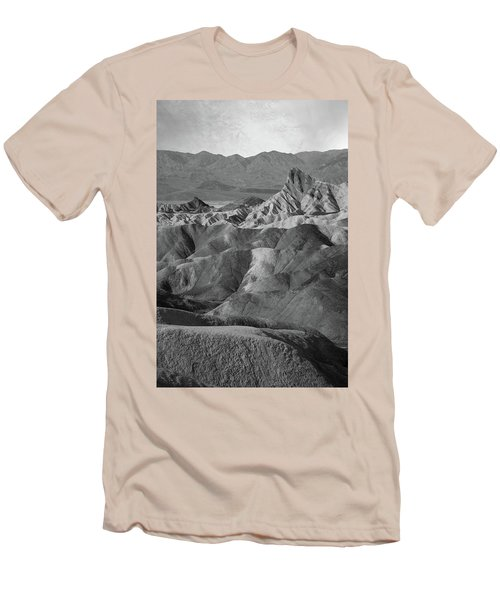 Zabriskie Point Portrait Men's T-Shirt (Athletic Fit)