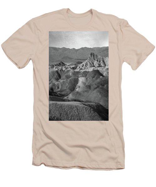 Zabriskie Point Portrait Men's T-Shirt (Athletic Fit)