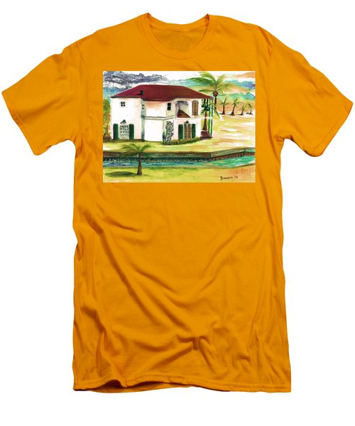 Fort Lauderdale Waterway Men's T-Shirt (Athletic Fit)