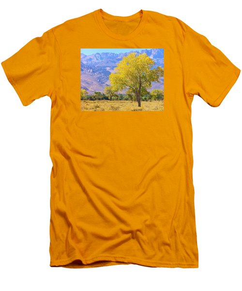 Men's T-Shirt (Slim Fit) featuring the photograph In All Its Glory by Marilyn Diaz