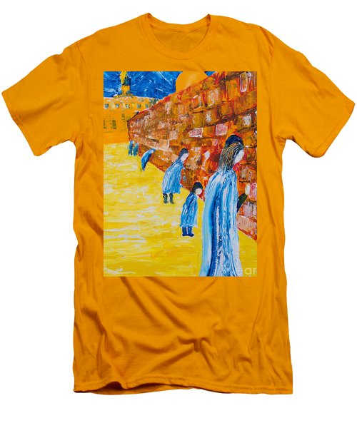 Western Wall Men's T-Shirt (Athletic Fit)