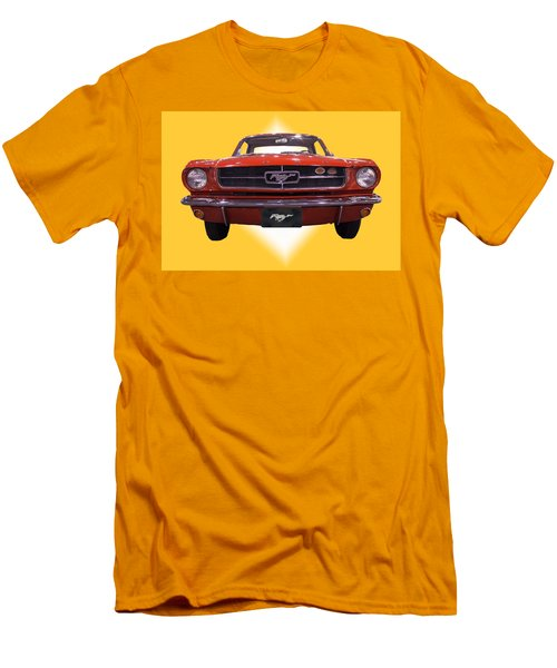 1964 Ford Mustang Men's T-Shirt (Slim Fit) by Michael Porchik