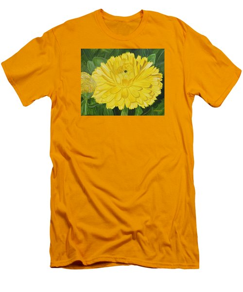 Golden Punch Men's T-Shirt (Athletic Fit)
