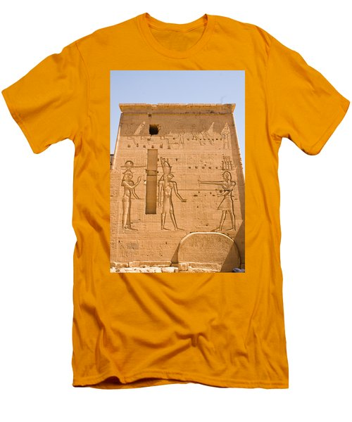 Temple Wall Art Men's T-Shirt (Athletic Fit)