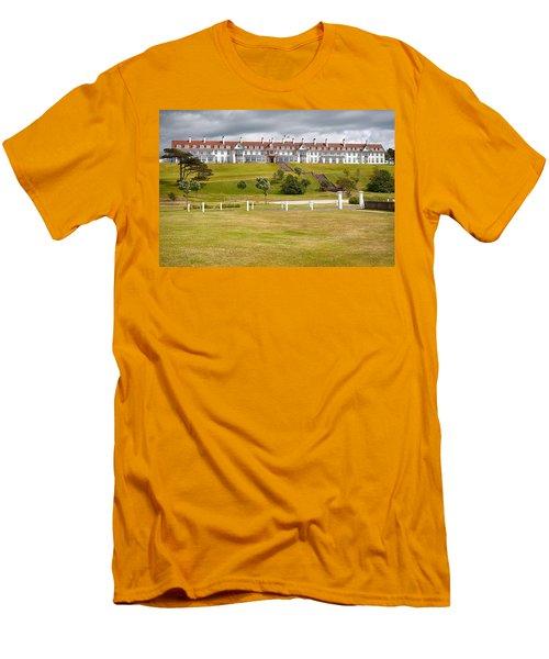 Turnberry Resort Men's T-Shirt (Slim Fit) by Eunice Gibb