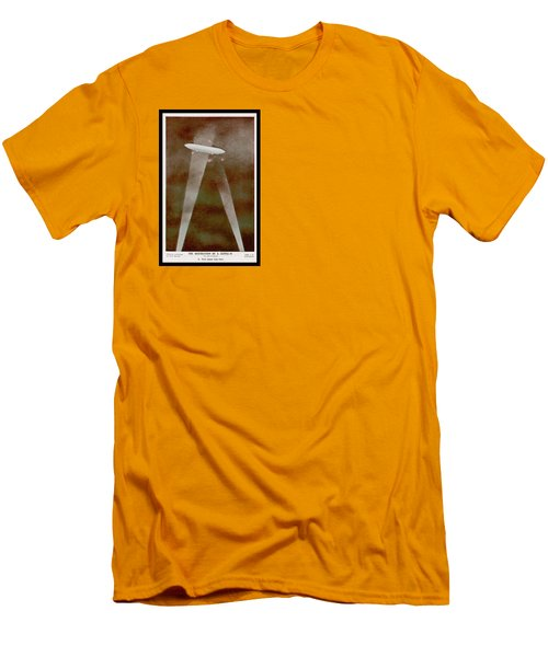 American Beaver Swimming Men's T-Shirt (Slim Fit) by Yva Momatiuk John Eastcott