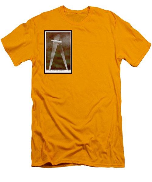 American Beaver Swimming Men's T-Shirt (Athletic Fit)