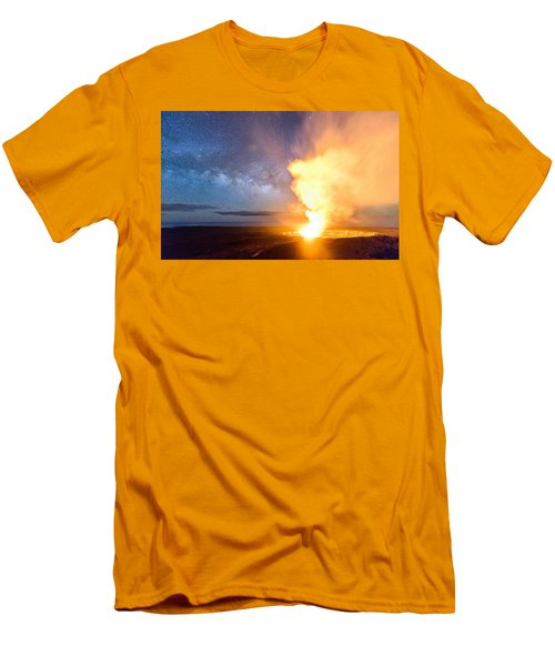 A Cosmic Fire Men's T-Shirt (Athletic Fit)