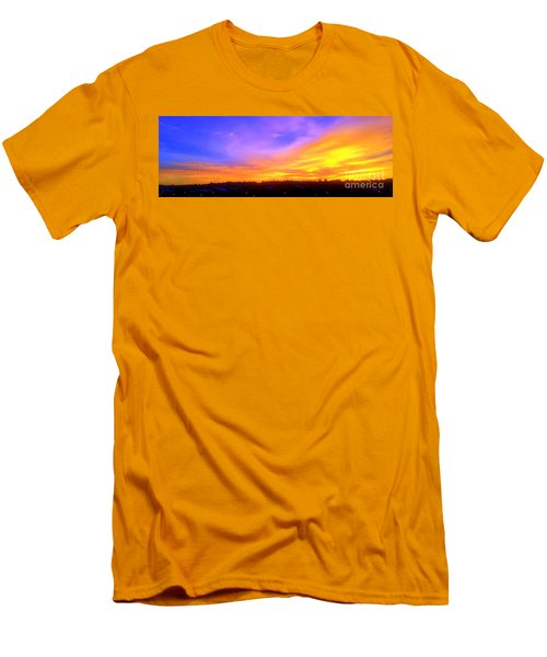 A New Dawn Men's T-Shirt (Slim Fit) by Roberto Gagliardi