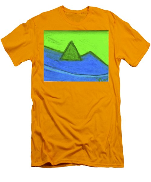 Abstract 92-001 Men's T-Shirt (Athletic Fit)