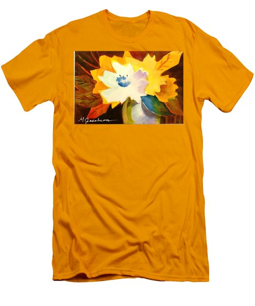 Abstract Flowers 2 Men's T-Shirt (Athletic Fit)