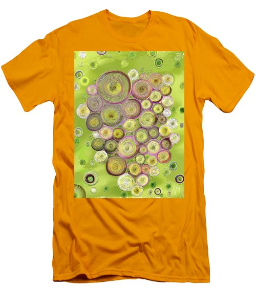 Abstract Grapes Men's T-Shirt (Slim Fit) by Veronica Minozzi