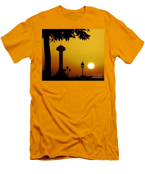 Men's T-Shirt (Slim Fit) featuring the photograph Abu Dhabi by Andrea Anderegg